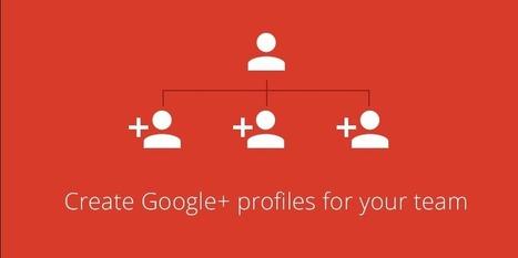 Cloudpoint blogi: Uusi hallintaominaisuus: Google+ profiilien luominen keskitetysti | Sosiaalinen Media | Scoop.it