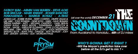 """Prysm Radio vous fera oublier la """"fin du monde"""" avec 2 jours de mix non-stop !   DJs, Clubs & Electronic Music   Scoop.it"""