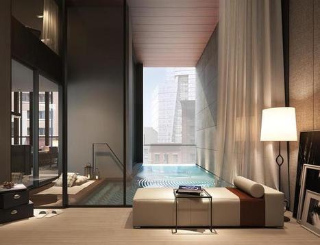 Magnifiques piscines sur le toit, vertigineusement belles | Piscine, natation | Scoop.it