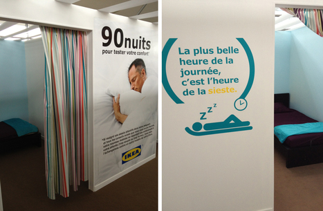 Example from Brand-Utility.com  #37 – Ikea – The nap station | Marketing with Shared Value | Scoop.it
