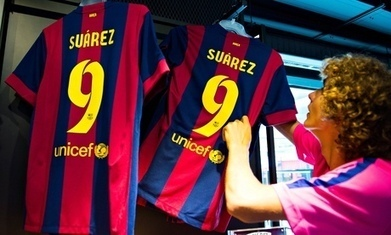 Luis Suárez unveiling at Barcelona blocked by Fifa until the end of his ban - The Guardian | AC Affairs | Scoop.it