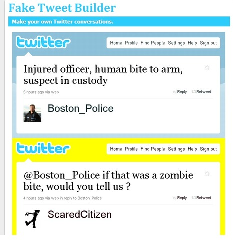 Fake Tweet Builder | Creative educational learning | Scoop.it
