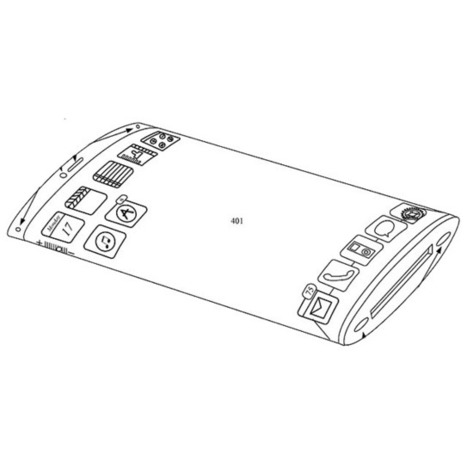 Apple Patents an iPhone With a Wrap Around Display [Images]   Mobile Marketing Rewards   Scoop.it