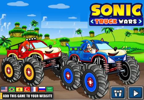 Sonic Truck War | Transformers Games | Sonic Games | Power Rangers Games | Scoop.it