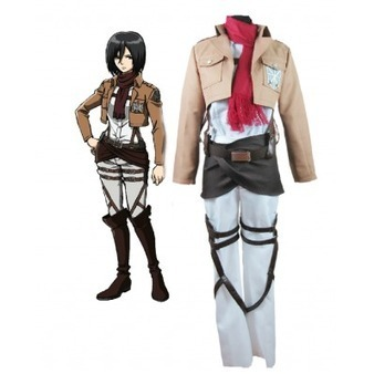Attack on Titan Mikasa Ackerman Cosplay Costume | Cosplay Costumes | Scoop.it