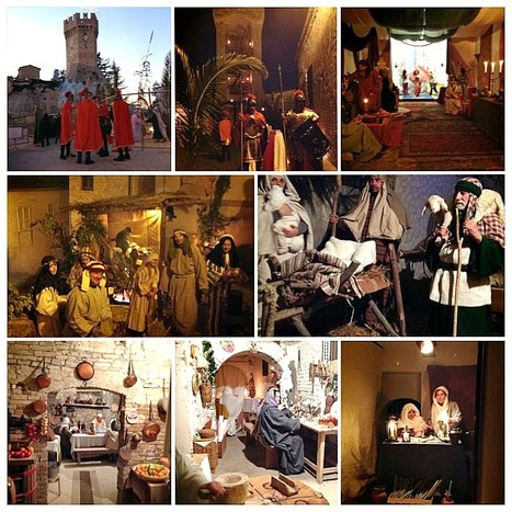 The Presepe Vivente at Porchia 2013 - Le Marche annual tradition | Le Marche another Italy | Scoop.it