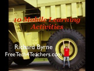 10 mobile learning activities and common core | Web 2.0 Tools in the EFL Classroom | Go Go Learning | Scoop.it