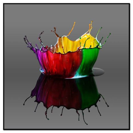 High-Speed Photography Captures Art In Drops Of Water | Amazing Science | Scoop.it
