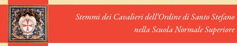 L'archivio degli stemmi dei Cavalieri del Sacro Militare Ordine di Santo Stefano | Généal'italie | Scoop.it