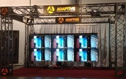 Adaptive Video Walls and Displays Demonstrates 3x2 Video Wall at Digital Signage Expo 2013 | The Meeddya Group | Scoop.it