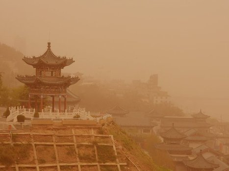 Photos: A Massive Sandstorm Swept Across Northern China | China's Water Crisis | Scoop.it