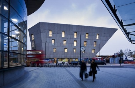 Canada Water Library / CZWG Architects | The Architecture of the City | Scoop.it