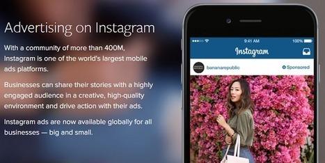 La publicité Instagram performe désormais autant que celle de Facebook   Community Management L'information   Scoop.it
