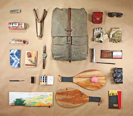What 20 Designers Carry Inside Their Bags [PICS] | Design | Scoop.it