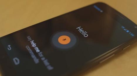 Motorola Moto X - Une vidéo et des fonctionnalités dévoilées | MotoX | Scoop.it