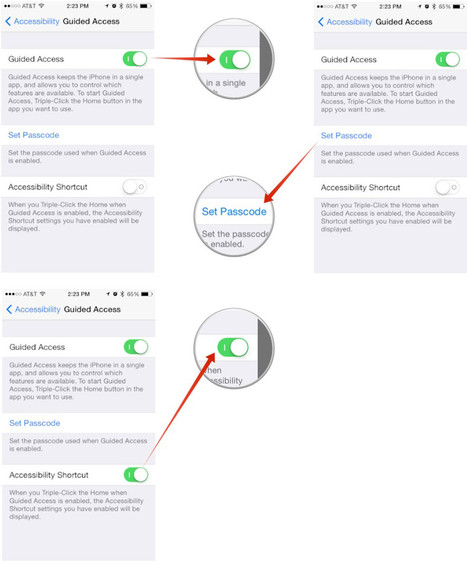 How to lock attention to a specific app with Guided Access for iPhone and iPad | I Pads in the Classroom | Scoop.it