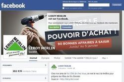 Comment Leroy Merlin gagne de l'argent avec Facebook | Etudes de cas E-marketing | Scoop.it