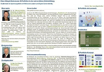 Im Blickfeld - Mahara ePortfolio IMB Danube University Krems Austria | Mahara ePortfolio | Scoop.it