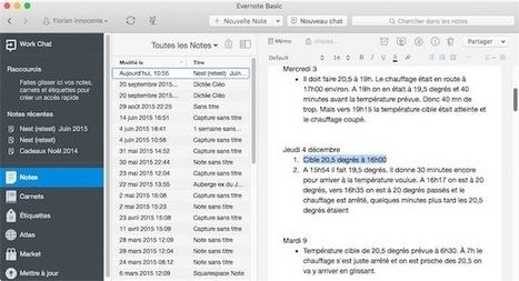 Evernote bêta teste un tout nouveau moteur de texte - MacGeneration | BàON - la Boite à Outils Numériques | Scoop.it