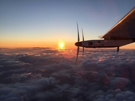 Solar Impulse bat son propre record de vol non-stop, entre le Japon et Hawaï | Vous avez dit Innovation ? | Scoop.it