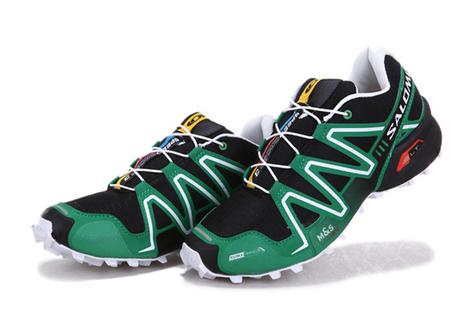 Salomon Speedcross 3 CS Black GreenTrail Running Shoes | new and popular list | Scoop.it