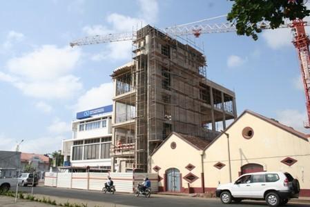BISTP - Banco Internacional de S. Tomé e Príncipe - Obras do Novo Edifício Sede | São Tomé e Príncipe | Scoop.it