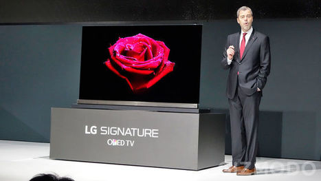 LG's New 4K OLED TVs Are Just Four Credit Cards Thick | Digital Culture | Scoop.it