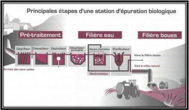 Les Stations d'épuration - environnement et développement durable, 3a | svt pollution de l'eau et risque pour la santé mars 2013 | Scoop.it