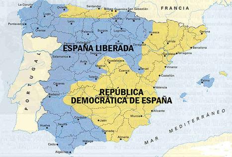 Strambotic » ¿Y si España hubiera quedado dividida tras la Guerra Civil? | Enseñar Geografía e Historia en Secundaria | Scoop.it