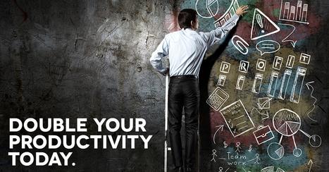 5 tips to double your productivity level - Ziglar Vault | productivity tips 247 | Scoop.it