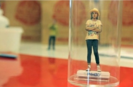Je eigen mini me poppetje via Coca-Cola | 3D and 4D PRINTING | Scoop.it