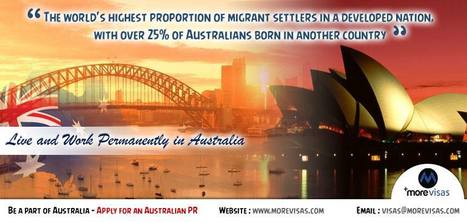 Australia Visa | Australia Immigration Consultants INDIA | MoreVisas Immigration and Visa Services | Scoop.it