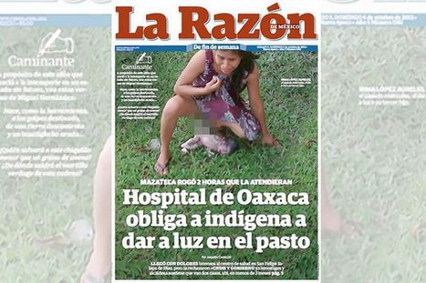 Shocking picture of woman, 28, giving birth on patch of grass outside medical centre provokes fury | Global hot news | Scoop.it