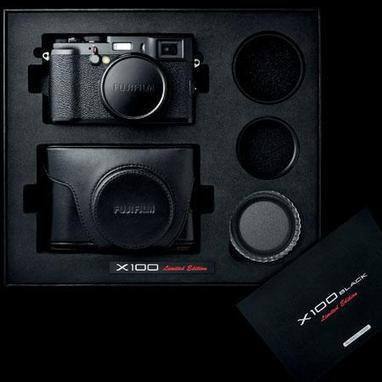 Sexy all black X100 in Stock. Not so sexy K-01 also :) | Photography Gear News | Scoop.it