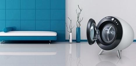 Une autre idée du lave-linge, par Bauknecht | Immobilier | Scoop.it