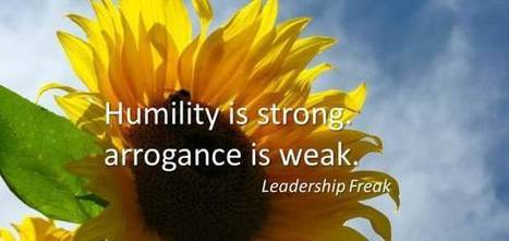 The 8 Strengths of Humility | Communication & Leadership | Scoop.it