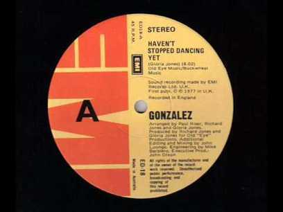 "Gonzalez - ""Haven't Stopped Dancing Yet"" ( 12"" Disco Single ) - YouTube 