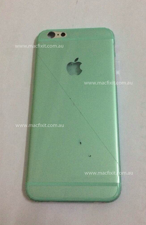 """New Leaked Image Of Apple Inc. (AAPL) iPhone 6 Confirms 4.7"""" Screen 