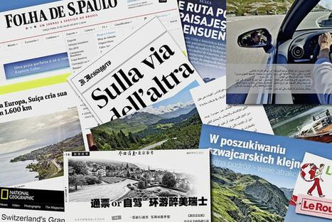 Les itinéraires suisses séduisent les touristes | Tourisme et voyages sur la route | Scoop.it