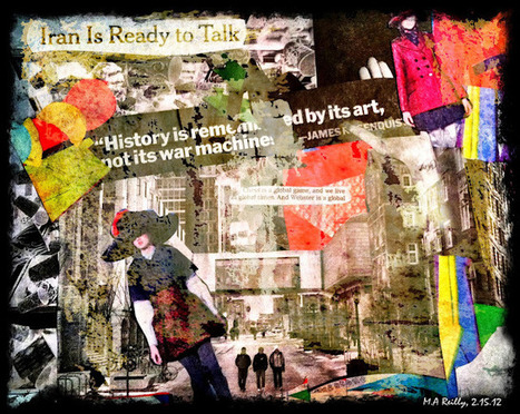 Keeping a Collage Journal Based on Daily Newspaper Reading: Channeling Peter Jacobs | Transmediation | Scoop.it