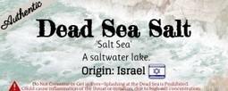 What is Dead Sea Salt | Salts Worldwide | Scoop.it