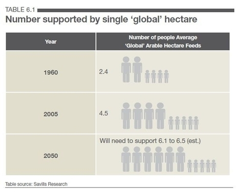 Great graph from Savills. Curated by GreenWorld | Global Agriculture | Scoop.it