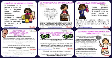 Estilos de Aprendizaje en pocas palabras - Imagenes Educativas | Recull diari | Scoop.it