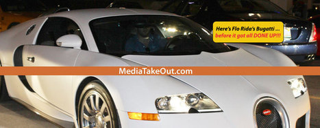 Rapper FLO RIDA Is Taking FLOSSING To Another Level . . . He Wrapped His $2M Bugatti . . . In 24 Karat GOLD!!! (Pics) - MediaTakeOut.com™ 2013 | GetAtMe | Scoop.it