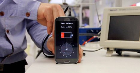 Battery Prototype Recharges Smartphones in 30 Seconds | Matmi Staff finds... | Scoop.it