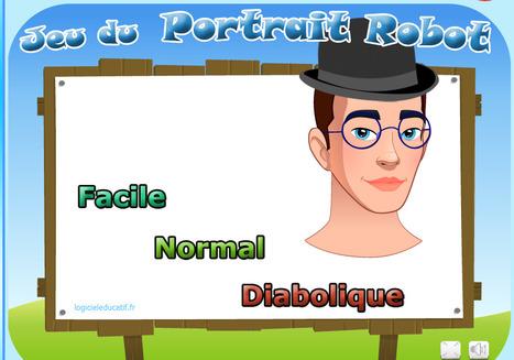 Jeu du portrait robot 6-10 ans | jeux éducatifs en ligne | Scoop.it