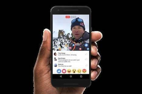 Facebook Ad Campaign Will Urge Users to Stream Live Video | MarketingHits | Scoop.it