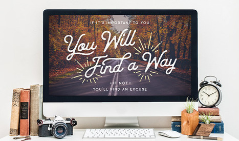 Free Desktop & Phone Background: You Will Find a Way | Design Freebies & Deals | Scoop.it