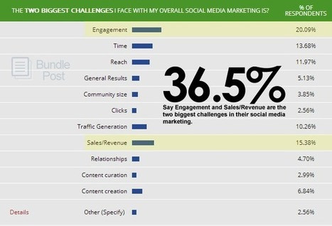 The Two Biggest Challenges Faced By Social Media Marketers [SURVEY REPORT] | Digital for small businesses | Scoop.it