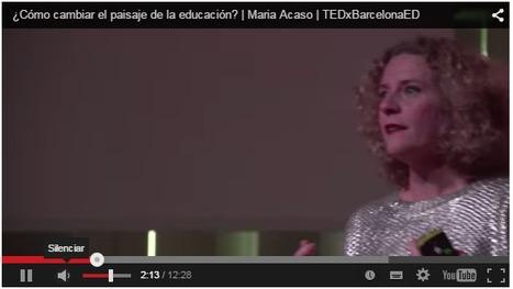 ¿Cómo cambiar el paisaje de la educación? María Acaso en TEDxBarcelonaED | APRENDIZAJE | Scoop.it